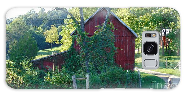 Barn At Piney River Galaxy Case by Charlotte Gray