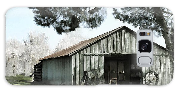 Barn At Vina Winery Galaxy Case