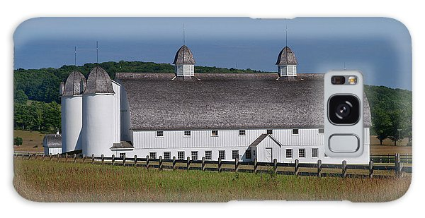 Barn By Sleeping Bear Galaxy Case