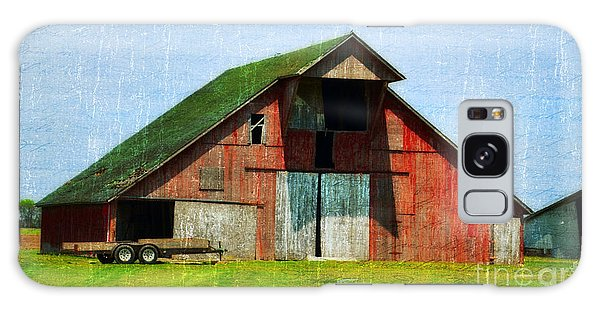 Barn - Central Illinois - Luther Fine Art Galaxy Case