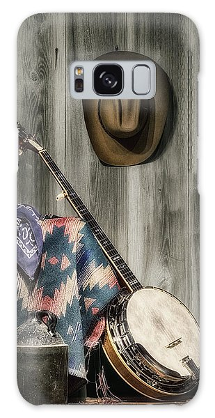 Barn Dance Hoe Down Galaxy Case