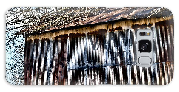 Barn Ghost Sign 1 Galaxy Case