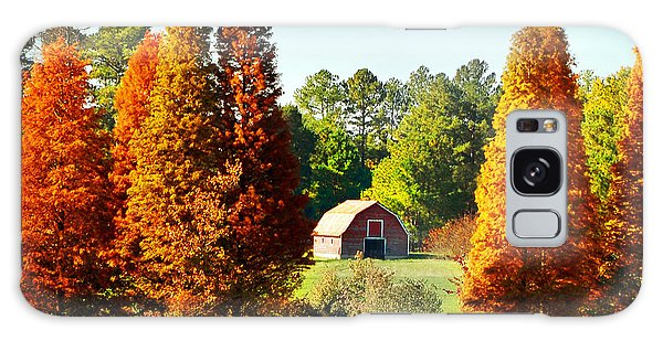 Barn In Fall Galaxy Case
