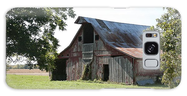 Barn In Missouri Galaxy Case