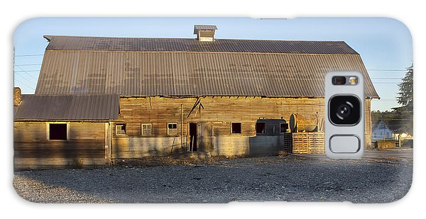 Barn In Rural Washington Galaxy Case