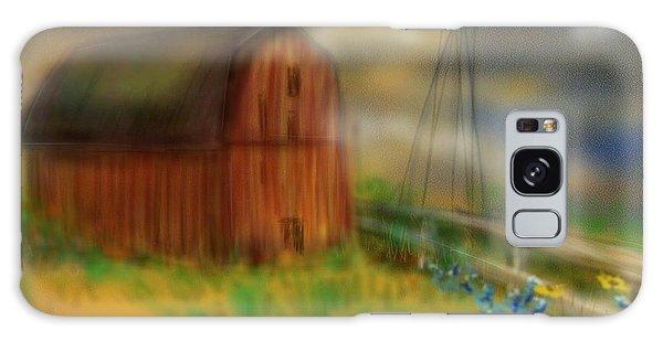 Barn Galaxy Case by Marisela Mungia