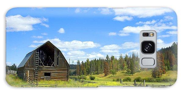 Barn Galaxy Case by Michele Wright