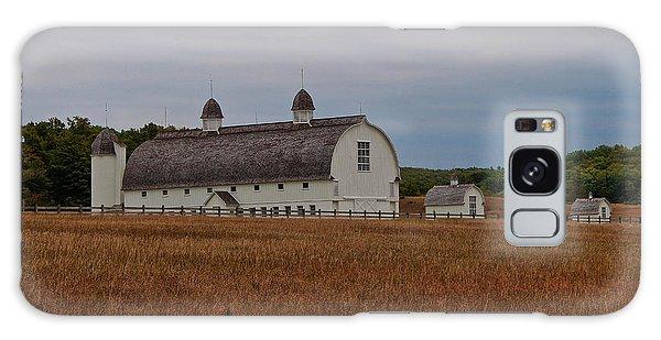 Barn On A Windy Day Galaxy Case