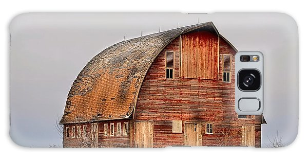 Barn On The Hill Galaxy Case by Bonfire Photography