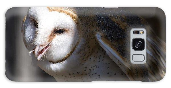 Barn Owl 1 Galaxy Case by Chris Flees