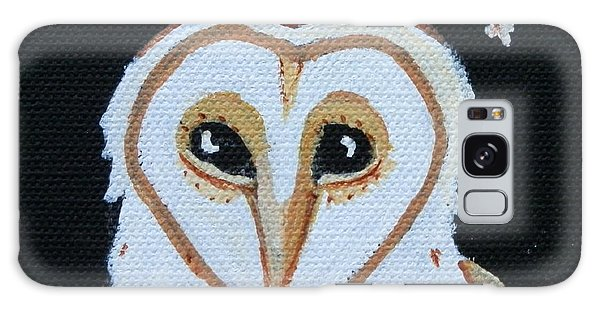 Barn Owl Galaxy Case by Carolyn Cable