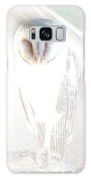 Barn Owl Galaxy Case by Holly Kempe