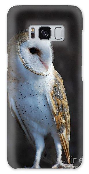 Barn Owl Galaxy Case by Sharon Elliott