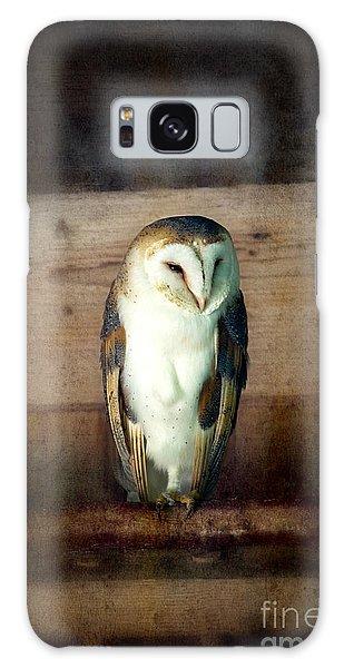 Mottled Galaxy Case - Barn Owl Vintage by Jane Rix