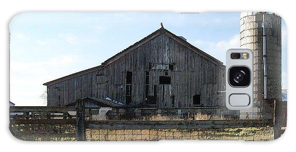 Barn - Waupaca County Wisconsin Galaxy Case
