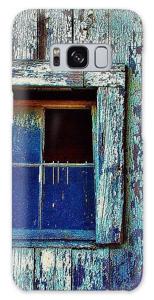 Barn Window 1 Galaxy Case