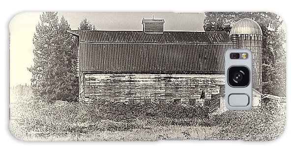 Barn With Silo Galaxy Case