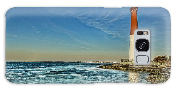 Barnegat Lighthouse - Lbi Galaxy Case by Lee Dos Santos
