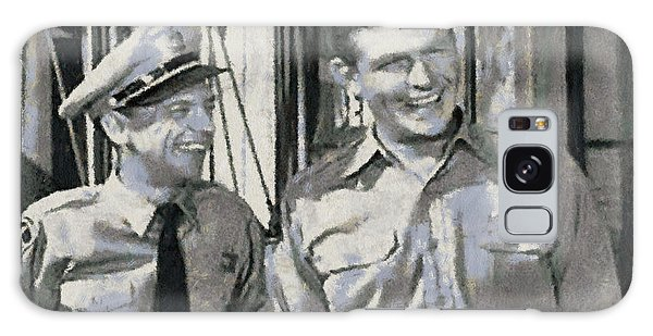 Galaxy Case - Barney Fife And Andy Taylor by Paulette B Wright