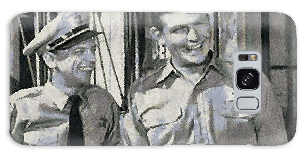 Barney Fife And Andy Taylor Galaxy Case
