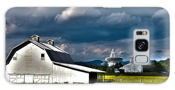 Barns And Radio Telescopes Galaxy Case