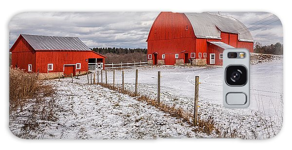 Fence Post Galaxy Case - Barns Of New York by Everet Regal