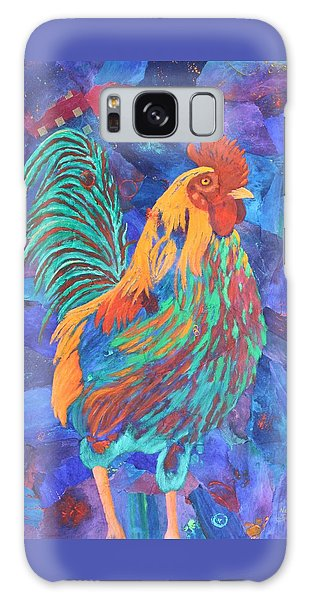 Barnyard Dude Galaxy Case by Nancy Jolley