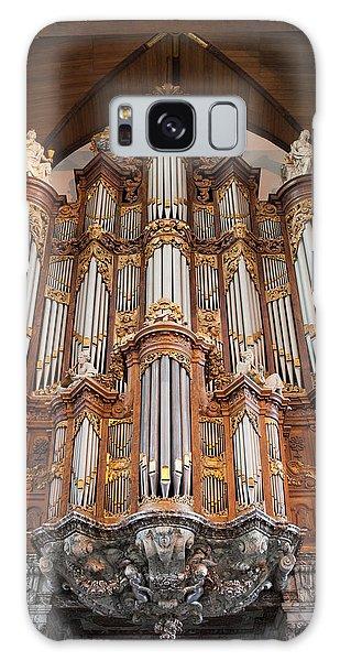 Baroque Grand Organ In Oude Kerk In Amsterdam Galaxy Case