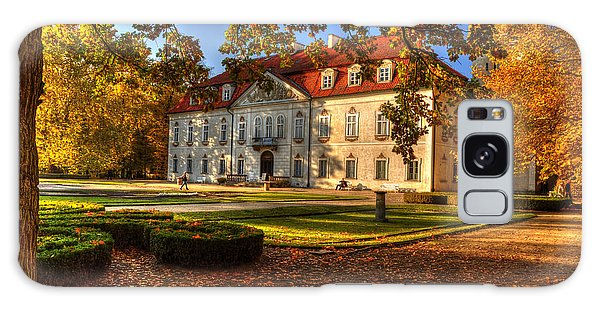 Baroque Palace In Nieborow In Poland During Golden Autumn Galaxy Case
