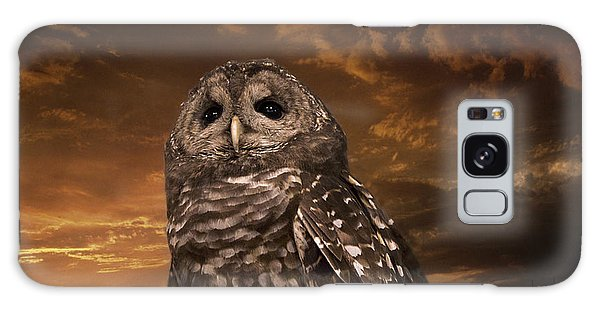 Barred Owl  Galaxy Case