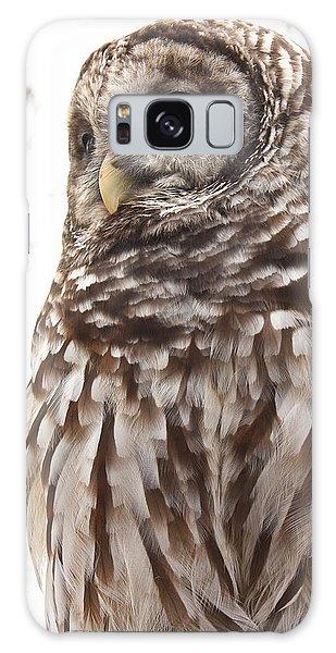 Barred Owl Galaxy Case by Tammy Schneider