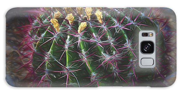 Barrel Cactus  ... Galaxy Case by Chuck Caramella