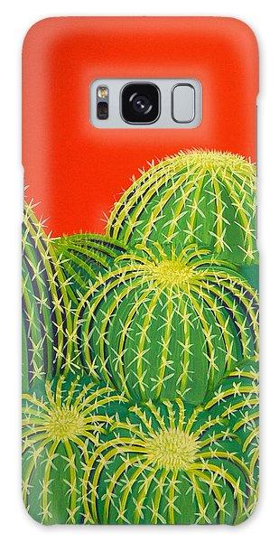 Barrel Cactus Galaxy Case by Karyn Robinson