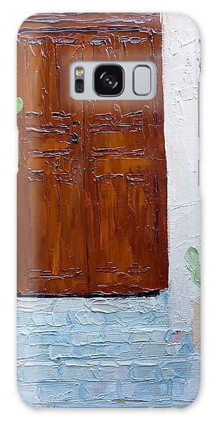Barrio Doorway Galaxy Case
