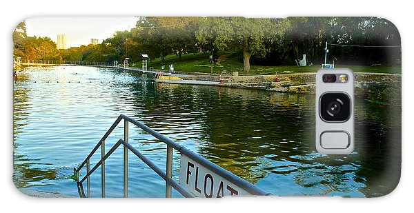 Barton Springs Pool In Austin Texas Galaxy Case