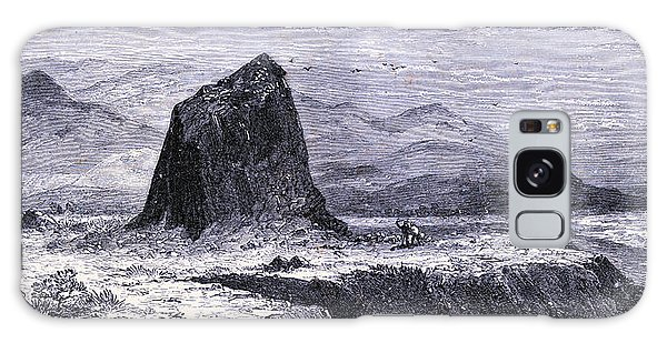 Basalt Galaxy Case - Basalt Rocks Near The Russian River United States Of America by American School