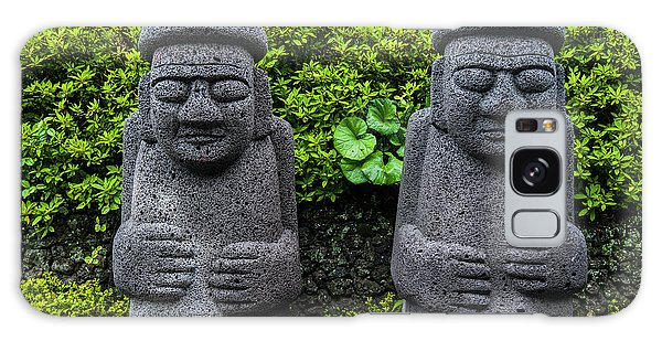 Basalt Galaxy Case - Basalt Statues In Seogwipo by Michael Runkel