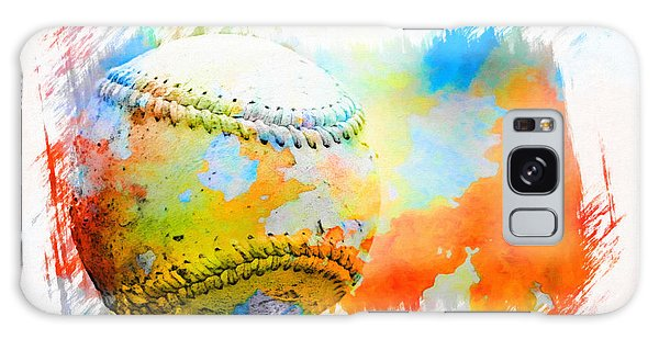 Baseball- Colors- Isolated Galaxy Case