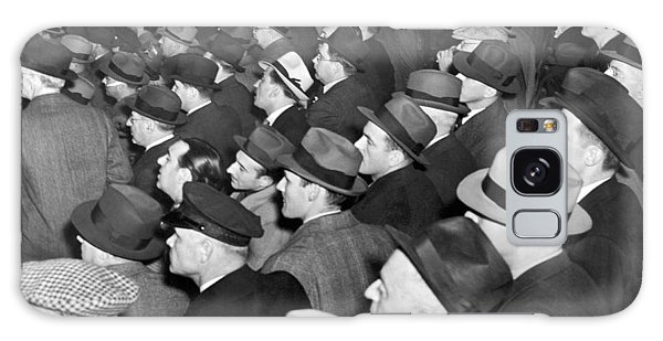 Baseball Fans At Yankee Stadium For The Third Game Of The World Galaxy Case