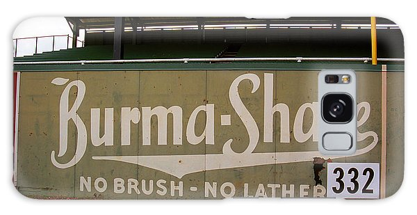 Baseball Field Burma Shave Sign Galaxy Case