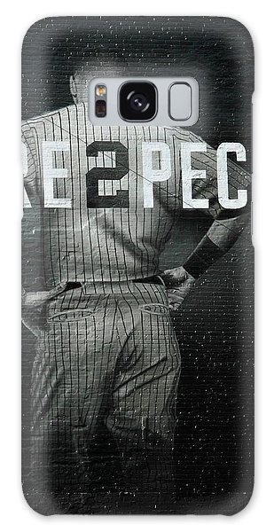 Greeting Galaxy Case - Baseball With Jeter by Jewels Hamrick
