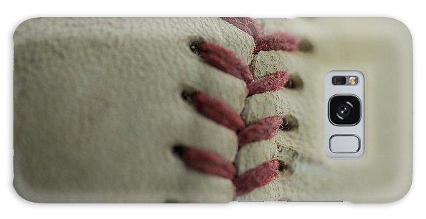 Baseball Macro Galaxy Case