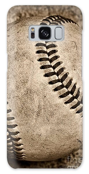 Baseball Old And Worn Galaxy Case