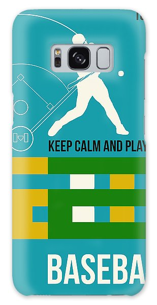 Baseball Galaxy Case - Baseball Poster by Naxart Studio
