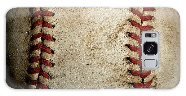 Baseball Galaxy Case - Baseball Seams by David Patterson