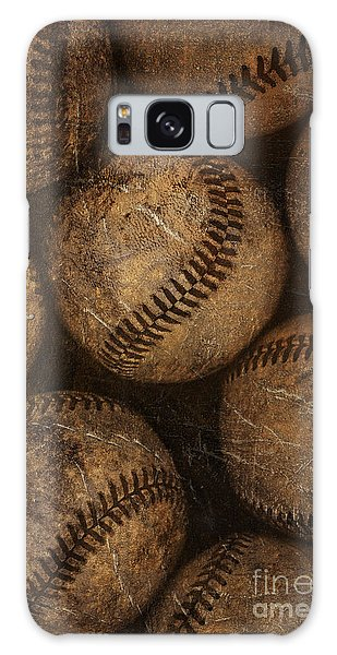 Baseball Galaxy Case - Baseballs by Diane Diederich