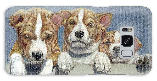 Basenji Puppies Galaxy Case by Ruth Seal