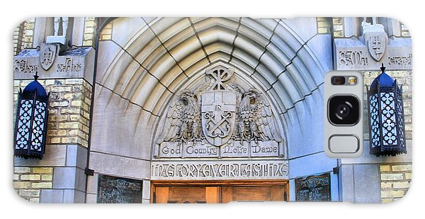 Sacred Heart Galaxy Case - Basilica Of The Sacred Heart Entrance by Dan Sproul