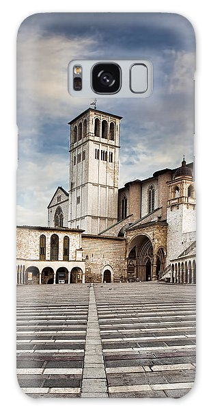 Basillica Of St Francis Of Assisi In Italy Galaxy Case