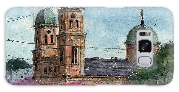 Basillica Of The Immaculate Conception In Natchitoches Galaxy Case by Tim Oliver
